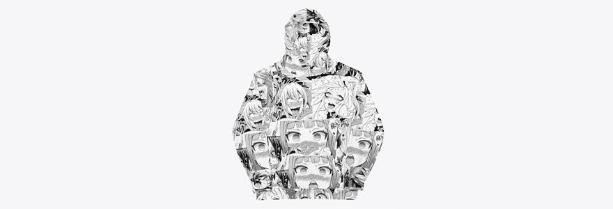 oversized japanese anime hoodies